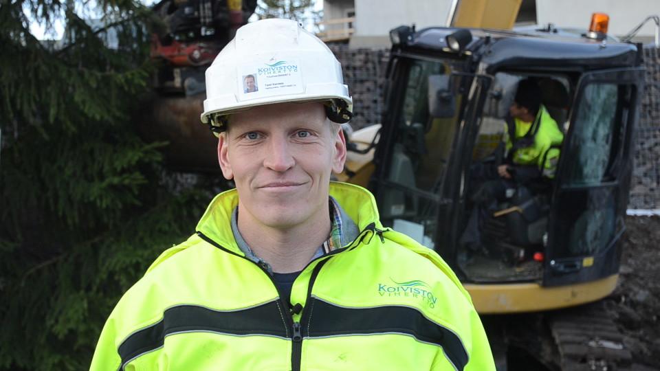 Koiviston Vihertyö Oy hoitaa työajanseurannan mobiilisti Nopsa-järjestelmällä