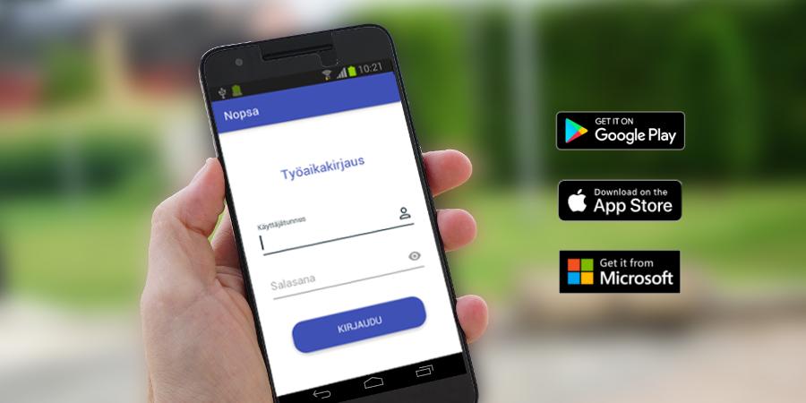 Mobiili työajanseuranta – valikoimassa nyt myös iPhone-sovellus