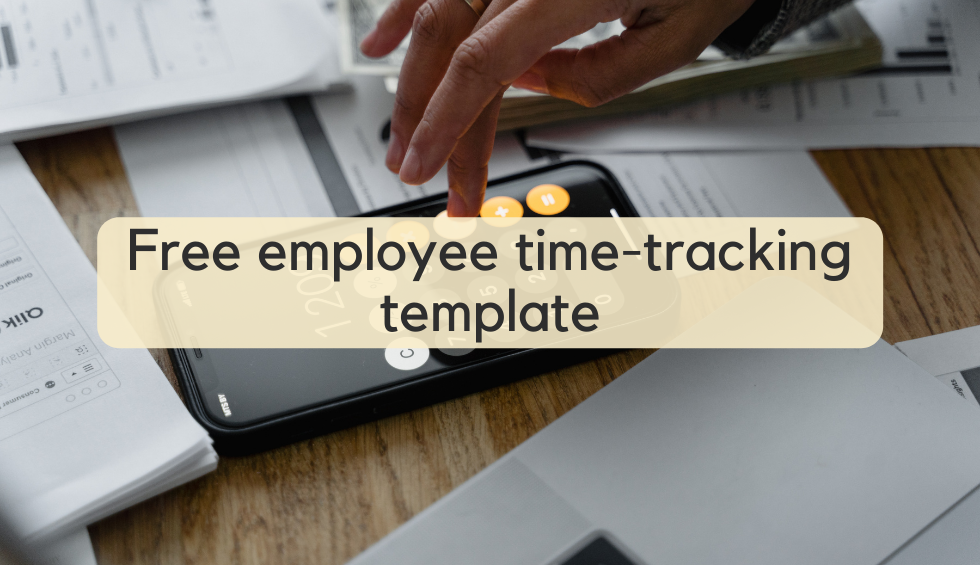 Download template employee time-tracking