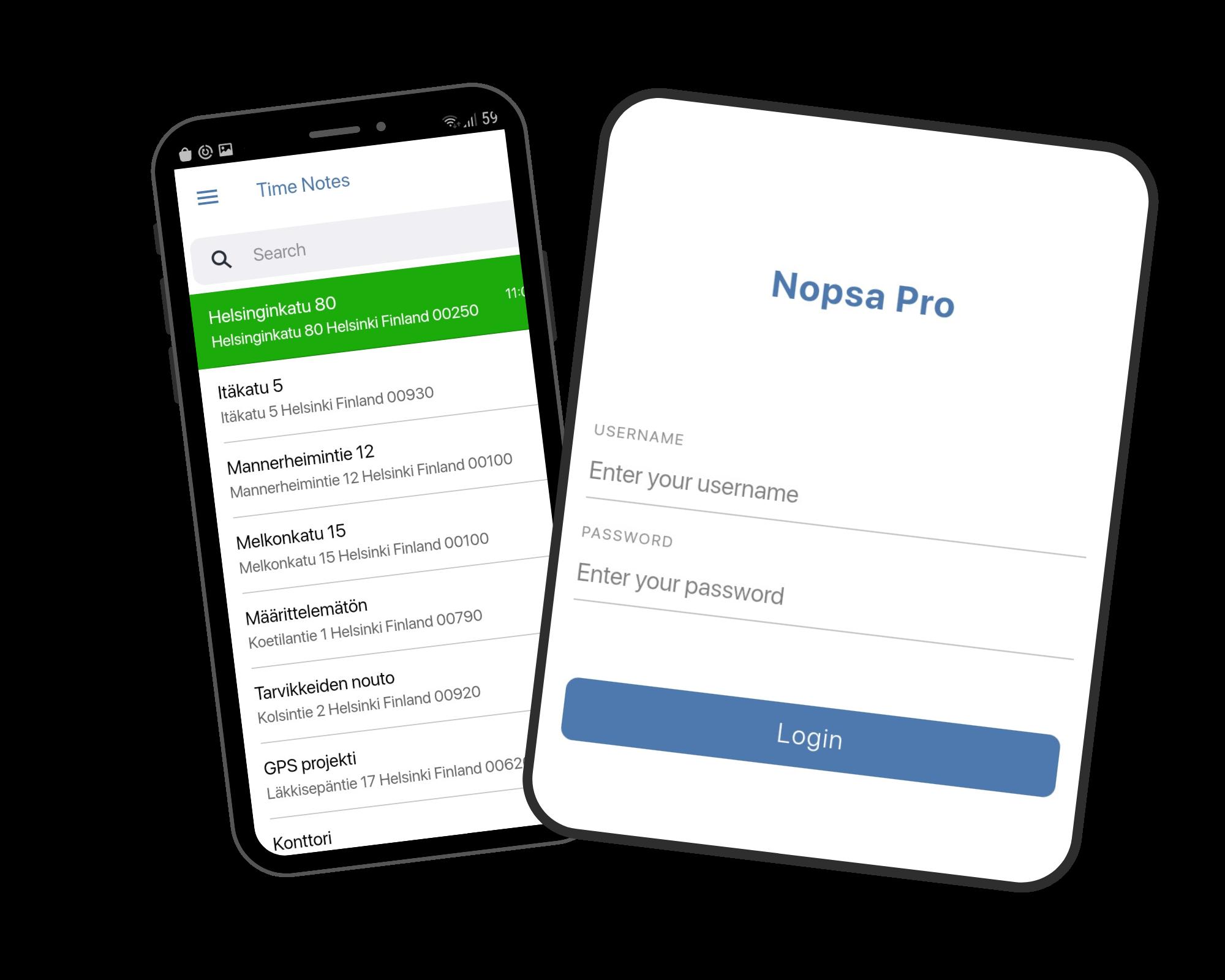 Site access control app