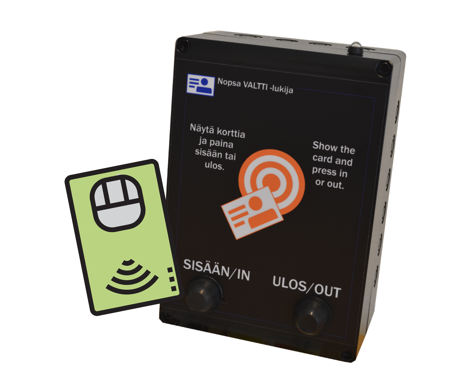 Site access control with smart cards
