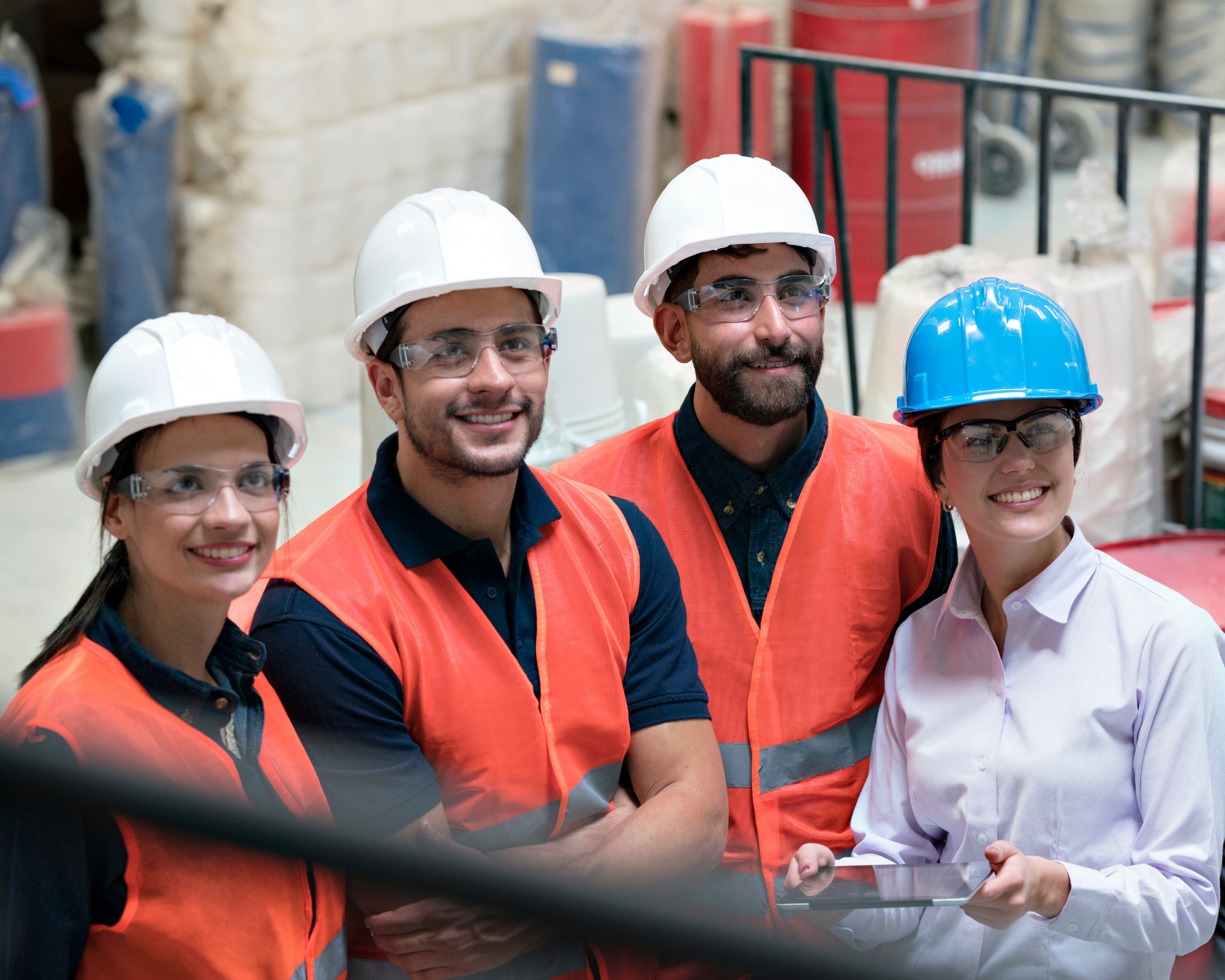 Electronic induction for construction site employees